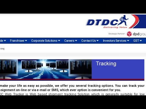 Dtdc Courier Kaise Track Kare Dtdc Courier Tracking Dtdc Kya Hota Hai Dtdc Courier Office Near Me Youtube