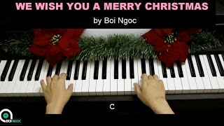 We wish you a Merry Christmas | Piano Tutorial #55 | Bội Ngọc Piano