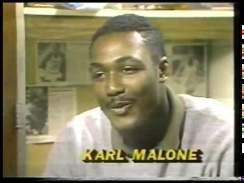 NCAAW + NCAAM Basketball   1985   Special   Louisana Tech Lady Techsters + The Mens Karl Malone