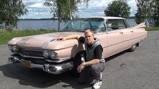 Тест-Драйв Cadillac De Ville 1959 года.