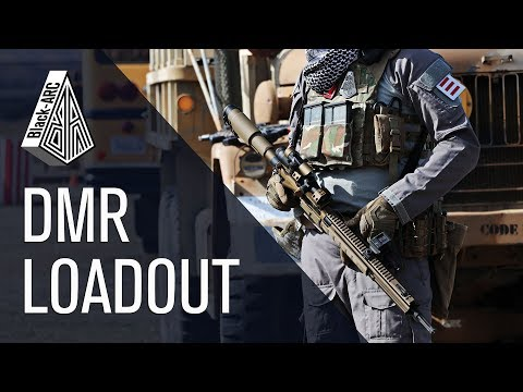 DMR LOADOUT OVERVIEW [ARC-00]   Black_Arc Airsoft   Code Red Airsoft Park