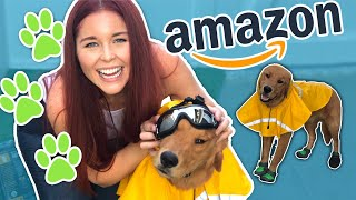 TRYING Amazon's BEST Dog Accessories