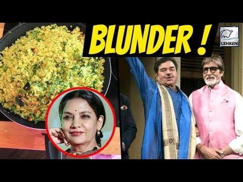 After Shabana Azmi Shatrughan Sinha Made Blunder On Social Media | लहरें गपशप