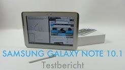 Samsung Galaxy Note 10.1 Testbericht - Deutsch (Full HD)