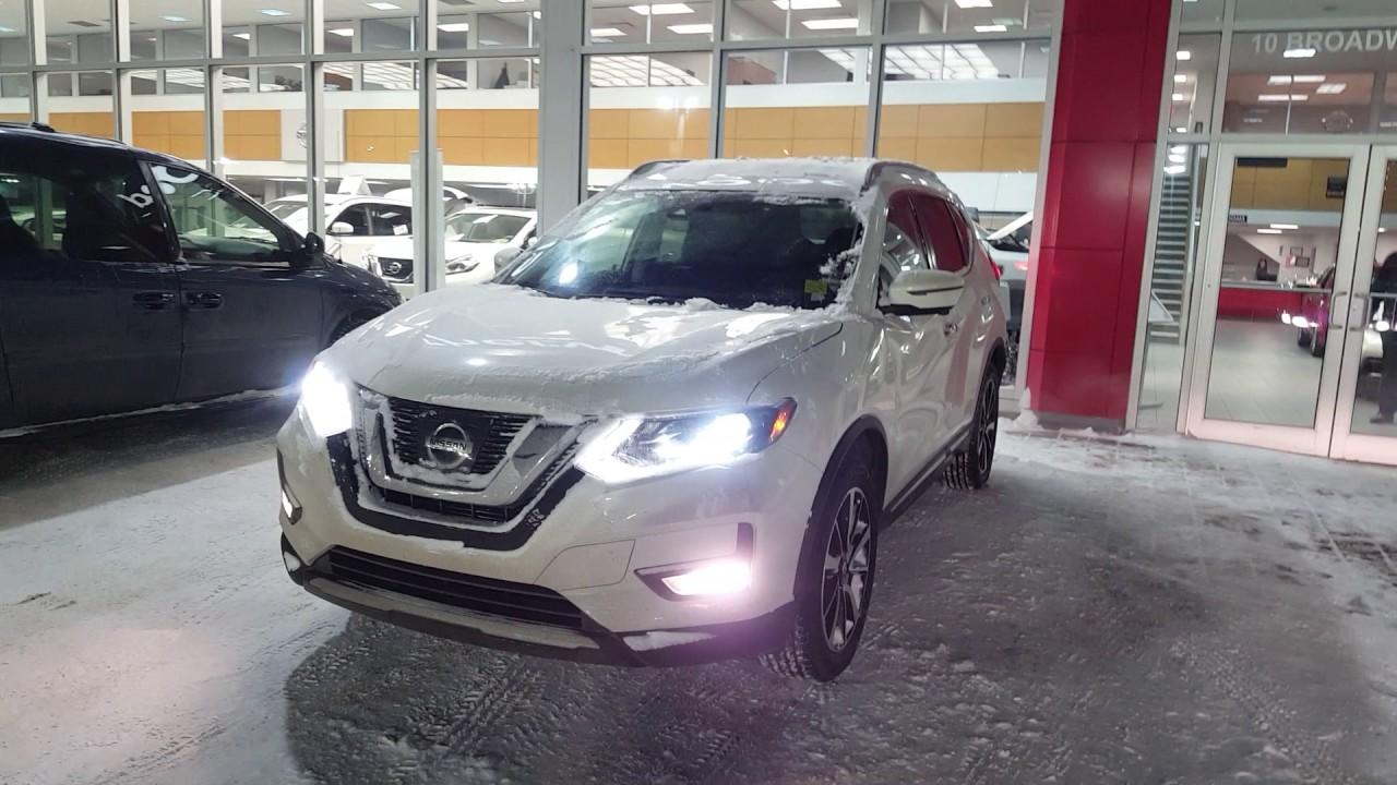 2017 Nissan Rogue Sl Awd Pearl White Sherwood