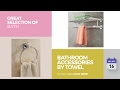 Bathroom Accessories By Towel Rack Great Selection Of Bath Products