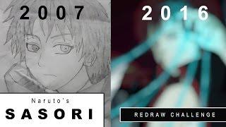 Redraw Challenge: Sasori (Naruto Shippuden)