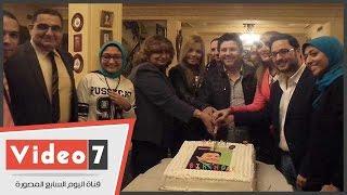 """""""اليوم السابع"""" فى حفل عيد ميلاد أمير الغناء هانى شاكر"""