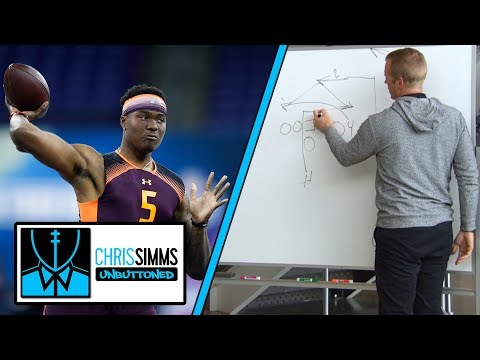 NFL Draft 2019: Chris Simms on how QB prospects draw up plays to NFL coaches | NBC Sports