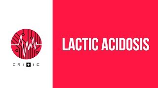 Lactic acidosis - a plan of attack