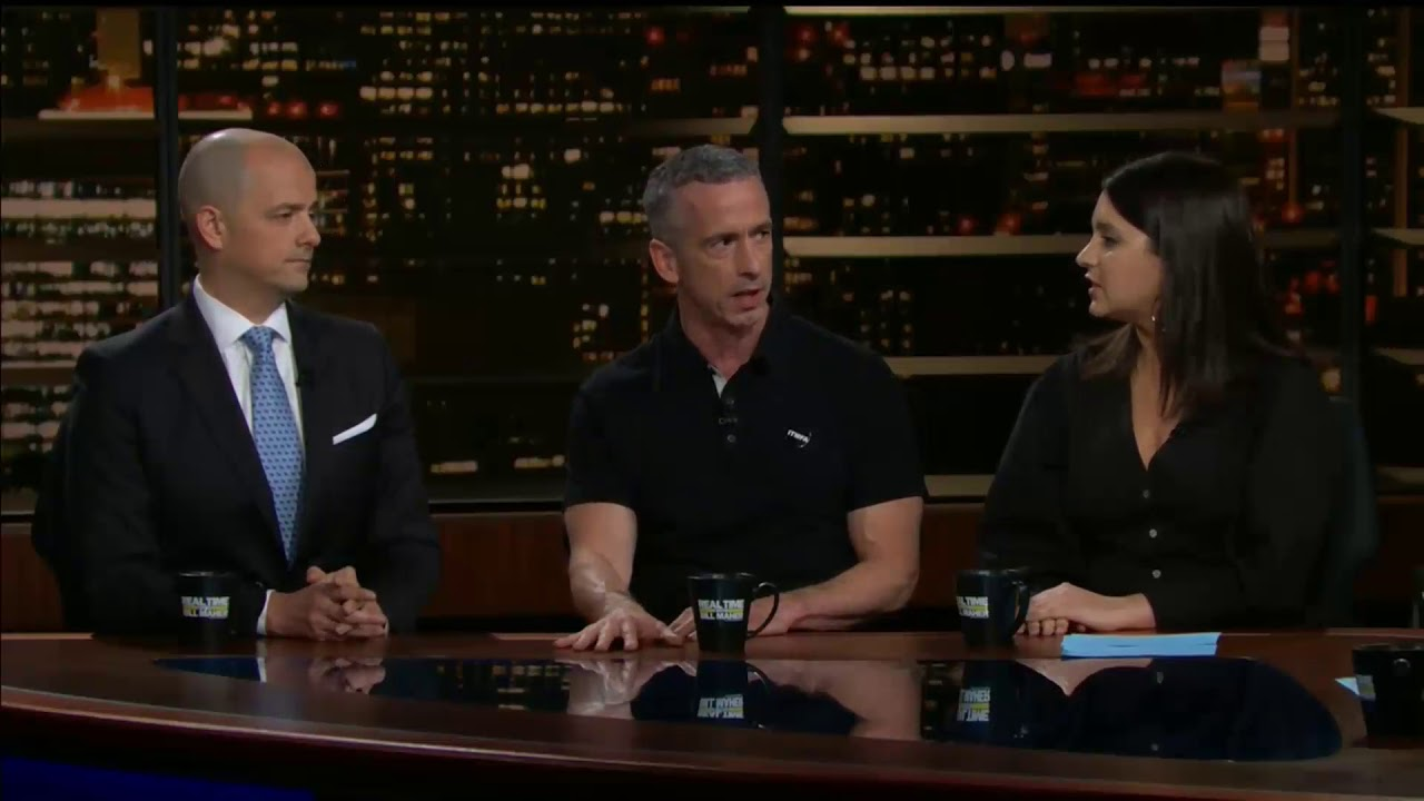 Bari Weiss Wedding.Bill Maher Bari Weiss Dan Savage Evan Mcmullin