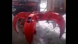 Грейфер для металлолома, на манипулятор(Грейфер гидравлический от компании Экспресмаркетинг, весь перечень оборудования смотрите на на сайте..., 2013-11-28T17:40:29.000Z)