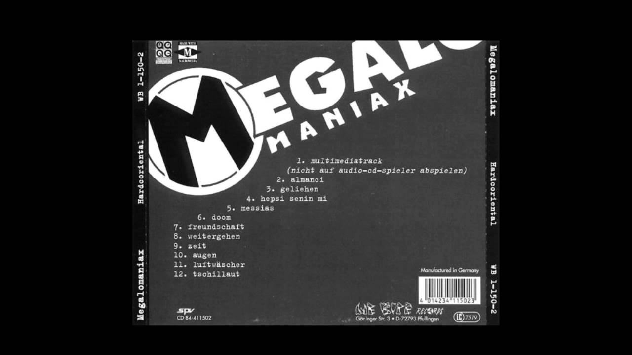 Megalomaniax - Hardcoriental (Full/HQ)