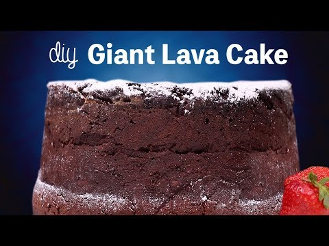 DIY GIANT LAVA CAKE - WILL IT CLOG?