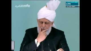 Проповедь Хазрата Мирзы Масрура Ахмада (15-06-2012)