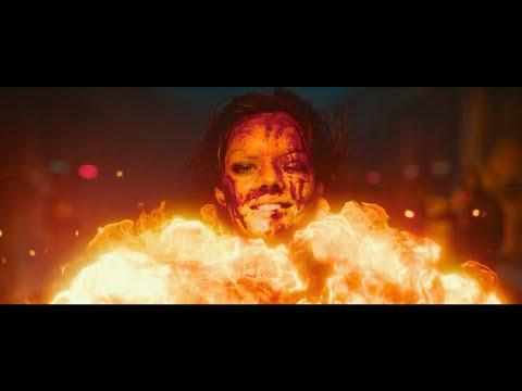 Никс жертвует собой   Пушки Акимбо фильм 2020   Момент из фильма