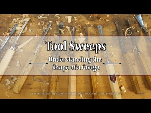 Tool Sweeps - Understanding the Shape of a Gouge