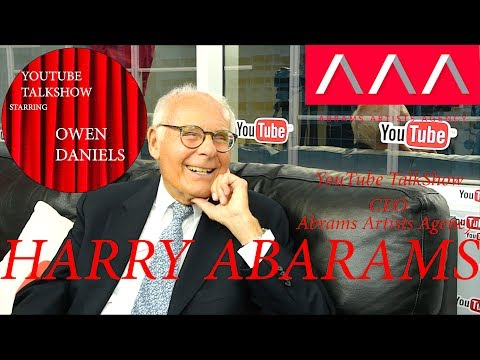 Harry Abrams CEO of Abrams Artists Agency - YouTube TalkShow Starring Owen Daniels