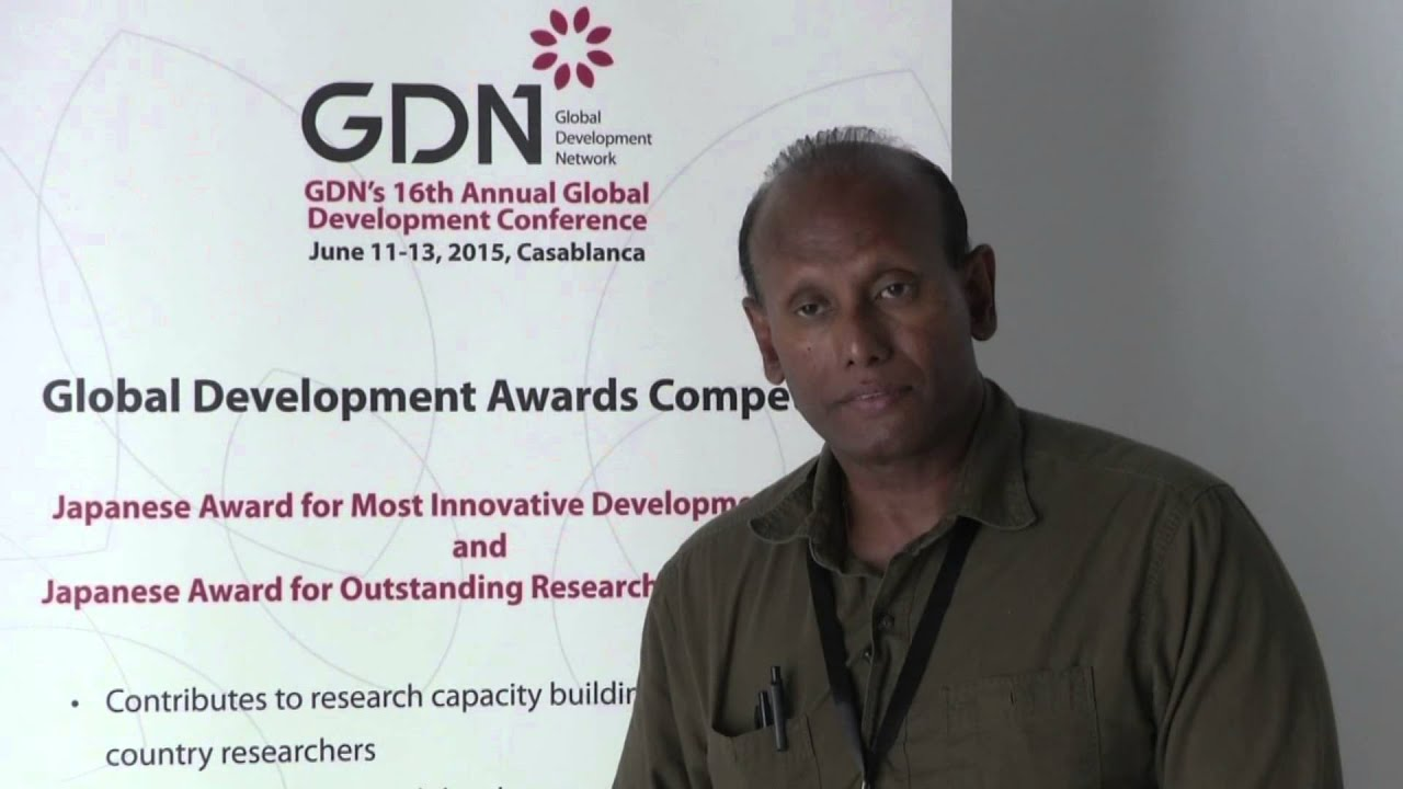 GDN Awards Competition's Finalist - Ravi Corea from Sri Lanka