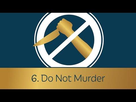 6. Do Not Murder