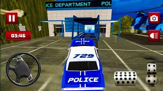 Transport Truck Police Cars Transport Games - Android Gameplay FHD