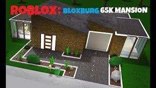 ROBLOX: Bloxburg house building for 65k! (no gamepasses)
