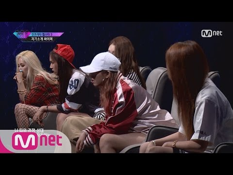 [UNPRETTY RAPSTAR3] Giant Pink, Yook Ji Dam, Euna Kim, Janey, Grace @Cypher 1/2 20160729 EP.01