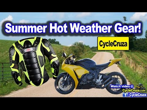 Summer Motorcycle Gear Suggestions Motovlog Youtube