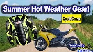 Summer Motorcycle Gear Suggestions | MotoVlog