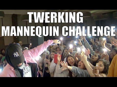 TWERKING MANNEQUIN CHALLENGE!! (AT MY SHOW)