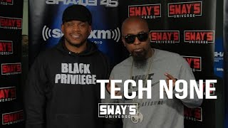 Tech N9ne Interview: Advice for Kanye West on Sway in the Morning