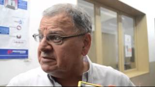 NOTA A SERGIO CHIBAN   PRESIDENTE DE LA LIGA SALTEÑA DE FUTBOL   VIOLENCIA