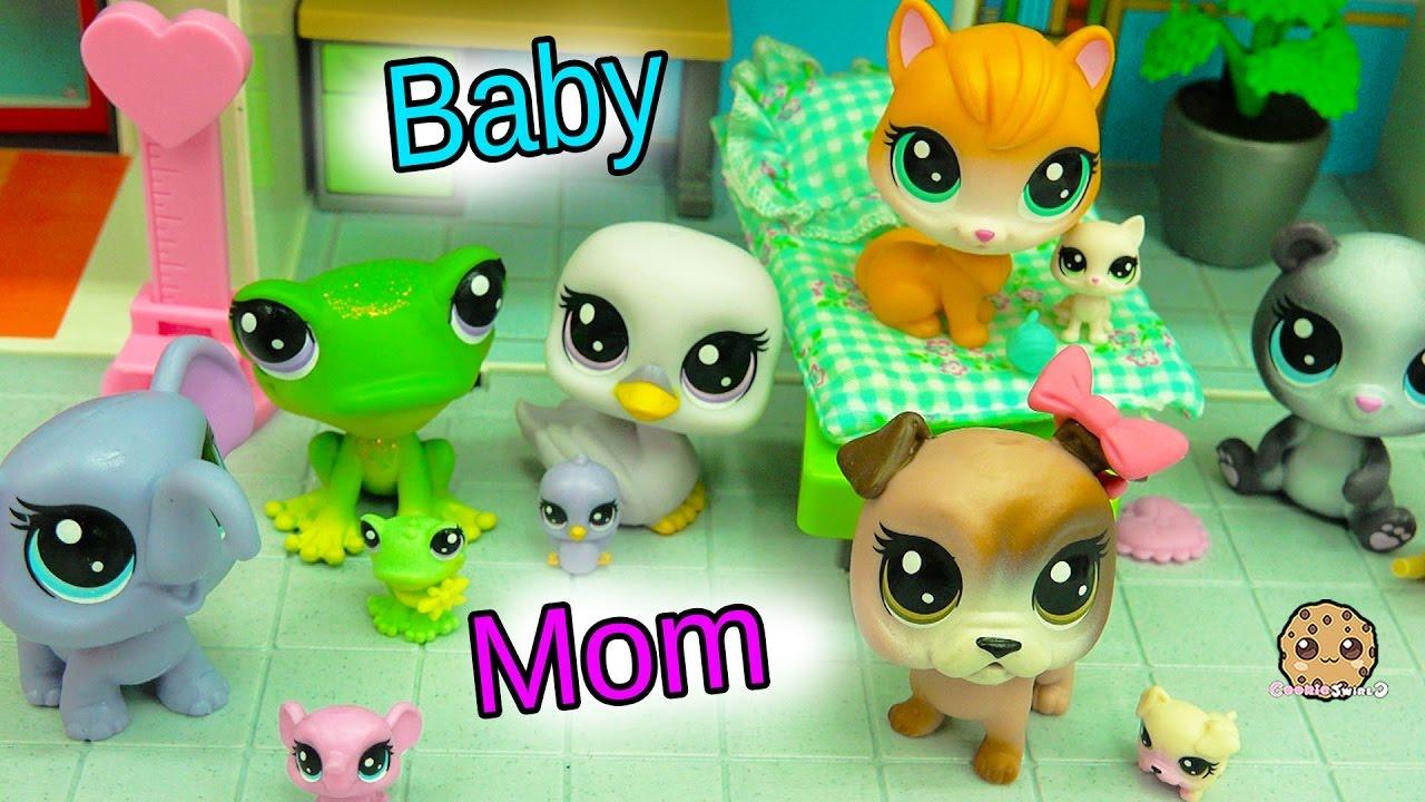 Uncategorized Littest Pet Shop Videos new littlest pet shop mom newborn baby sets mommies babies at hospital youtube