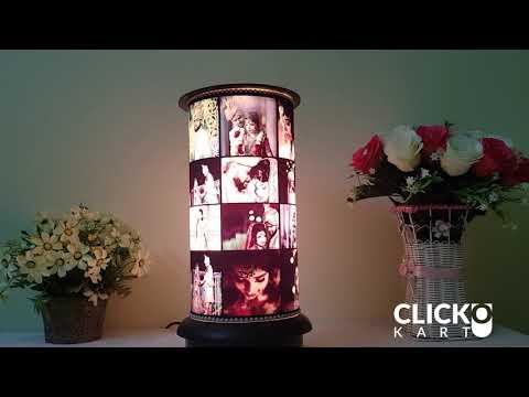 Rotating Lamp Shades