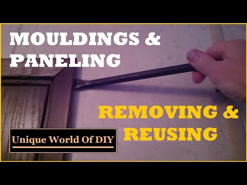 Paneling and Molding - Removing and Reusing - Mobile Home DIY