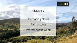 Sunday Scotland weather forecast 05/09/21
