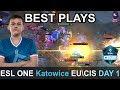 ESL One Katowice 2019 BEST PLAYS Qualifier EU CIS Day 1 Highlights Dota 2 Time 2 Dota Dota2 Eslone mp3