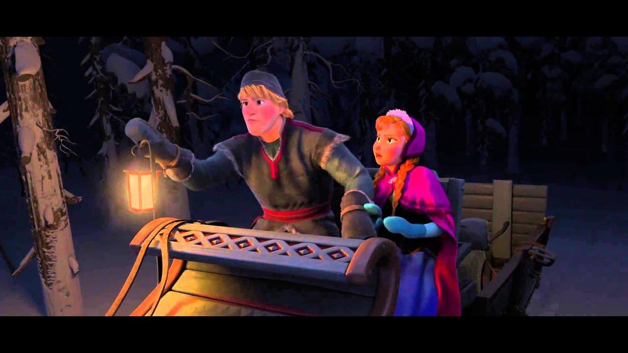 la reine des neiges vers la montagne du nord extrait fr 1080p hd