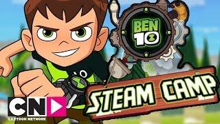 Ben 10 | Steam Camp Playthrough | Cartoon Network