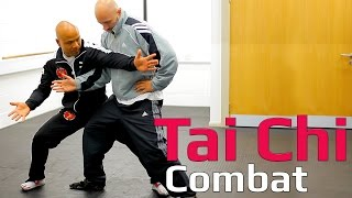 Tai chi combat tai chi chuan -tai chi push hand take down. Q30