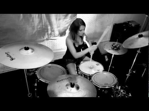Louna - Мама (drum Cover By Виктория Ткаченко)