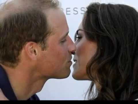 Prince William and Kate Middleton Kissing Compilation