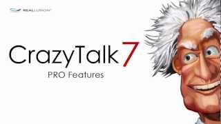CrazyTalk7 PRO Features Demo Video