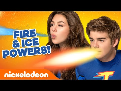 EVERY Fire and Ice Power Moment! 🔥🧊 The Thundermans