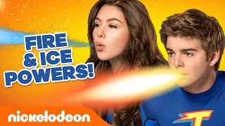 EVERY Fire and Ice Power Moment!  The Thundermans