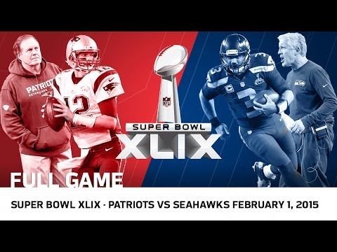 Super Bowl XLIX: Tom Brady vs. Russell Wilson | Patriots vs. Seahawks (FULL GAME) | NFL