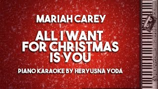 All I Want For Christmas Is You (Piano Karaoke Version) by Mariah Carey