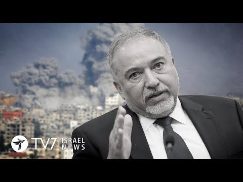 Israel's security cabinet decides to dodge Gaza war, prompts DM resignation-TV7 Israel News 14.11.18