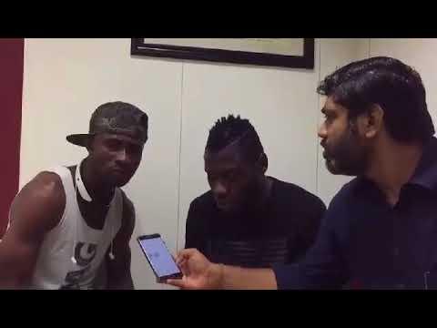 Watch! Mohun Bagan footballer Kamo, Kromah singing Puja theme song