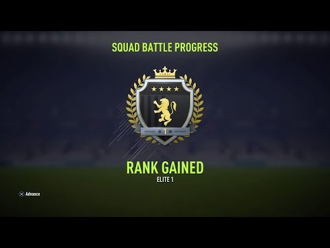 NAGRODY ZA ELITE 1 I RAPORT ZE SQUAD BATTLES | FIFA 18 ULTIMATE TEAM R2G